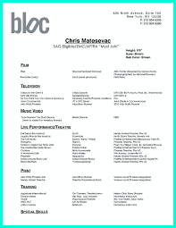 Sample Dance Resume Download Resume Instructor Image Examples
