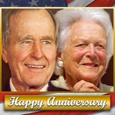 FOX 5 Atlanta - HAPPY ANNIVERSARY! George H.W. and Barbara Bush ...