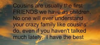 Quotes About Cousins Marrying 40 Quotes Custom Best Cousins Quote