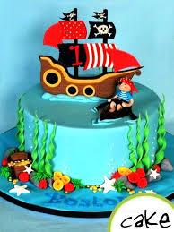 Pirate Ship Birthday Cake Easy Cakes Dessert Chocolate Babyplanet