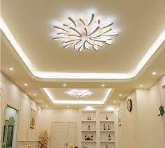 Chọn đèn trần trang trí phòng khách cần lưu ý những gì? - Đèn led ốp trần