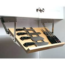 ... Shun Knife Block Large Chef Knife This Under Cabinet Knife Block Gives  You A Simple Home ...