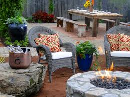 weather is not an issue by putting the fire pit