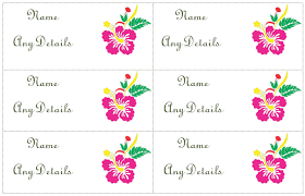 Place Cards Template For Word Place Card Template Easy Card Making