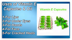 top 5 uses of vitamin e capsules for lips under eyes hands face ed heels