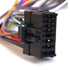 harga 16 pin iso wiring harness connector adaptor loom for sony pioneer 16 pin wiring harness generac generator installation