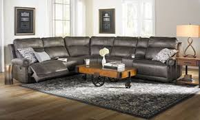 furniture stores living room. Picture Of Pierson Power Reclining Storage Sectional With USB Furniture Stores Living Room