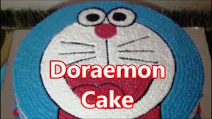 How To Make Unique Doraemon Cake Youtube