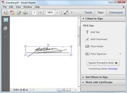 How To Sign A Pdf In Adobe Reader How To Create An