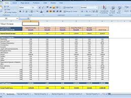 Rental Template Excel Rental Property Spreadsheet Template Excel Spring Tides Org