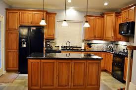 modern cherry kitchen cabinets. Fine Kitchen Gorgeous Natural Cherry Kitchen Cabinets Contemporary  Bath Ideas On Modern