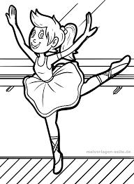 Kleurplaat Ballet Gratis Kleurpaginas Om Te Downloaden