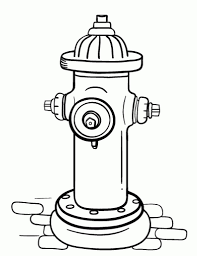 Small Picture Fire Hydrant Coloring Pages In Hydrant Coloring Page itgodme