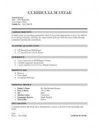 Resume Examples Amazing 10 Best Ever Detailed Informatios Good