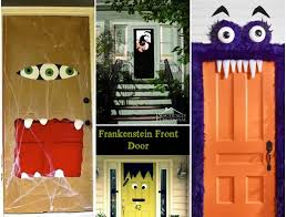 halloween door decorating ideas. Want To Be Festive For Halloween But Don\u0027t Have A Yard (or The Energy)  Go All Out Decorating Every Inch Of House? Decorating Just Your Door Is An Halloween Ideas