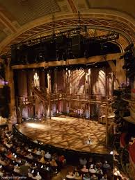 Richard Rodgers Theatre Front Mezzanine View From Seat