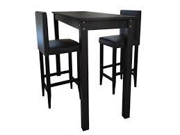Lot De 2 Tabourets De Bar Avec Table Haute Helloshop26 1202005