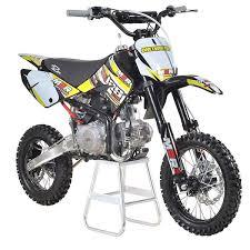 racing km125mx 125cc 82cm yellow pit bike