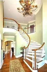 2 story foyer lighting