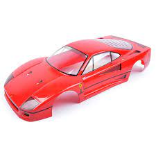 Tamiya Karosserie Ferrari F40 Fertig Lackiert Gruppe C