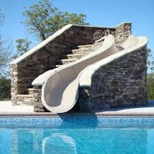 residential indoor pool with slide. Garden Ride Residential Indoor Pool With Slide