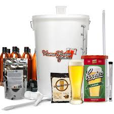 home brew complete starter kit with coopers lager