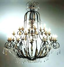 wrought iron candle chandeliers non electric chandelier wooden wroug