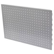 Form Twinslot Storage Peg Board (H)400mm (W)590mm   Departments   DIY at B&Q