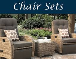 our reclining chair range