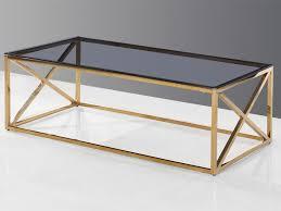 gold coffee table palma
