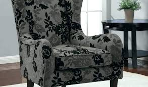 gray wingback chair. Gray Wingback Chair Patterned Download By Slipcovers Grey .