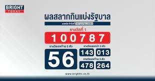 ตรวจหวย สลากกินแบ่งรัฐบาล 16 เมษายน 2564 รางวัลที่ 1 คือ 100787