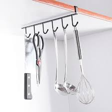 kitchen utensil hooks towel hanger mug cups rag storage previous