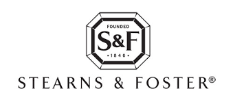 stearns and foster logo. stearns \u0026 foster and logo