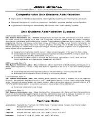 resume template  administrator resume objective administrator    administrator resume objective for comprehensive unix systems administration   technical skills