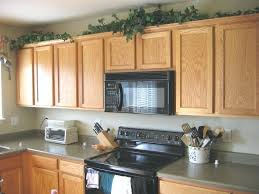 Above Kitchen Cabinet Decorative Accents