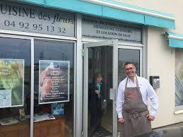 La Cuisine Des Fleurs In Antibe France George Geary