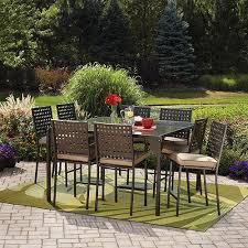 mainstays droma outdoor patio dining