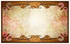 vintage frame design png. Vintage Decor Frame By Lyotta Design Png
