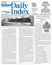 Tacoma Daily Index August 19 2013 by Sound Publishing issuu