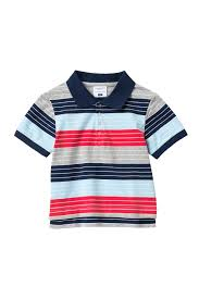 Toobydoo Size Chart Toobydoo Stripe Polo Toddler Little Boys Big Boys Nordstrom Rack