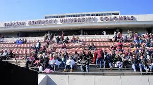 Roy Kidd Stadium Seating Chart Roy Kidd Stadium Eastern Kentucky Colonels Stadium Journey