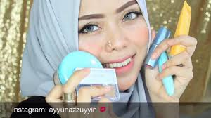 wardah kosmetik one brand makeup tutorial ayyunazzuyyin indonesia you