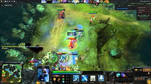 dota 2 5 man gank youtube