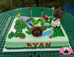 Ryans Mini Golf Cake Cakes Rock Blog In 2019 Golf Birthday
