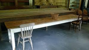 long farmhouse table long farmhouse table long narrow farm table