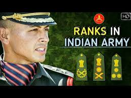 Indian Army Rank Structure Chart Ranks In Indian Army Indian Army Ranks Insignia And Hierarchy Explained Hindi