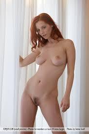 Hot Nude Redhead Woman