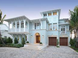 Key West Style Home Builders Florida Southern Living Coastal House