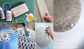 Diy Pendant Light Sarah M Dorsey Designs Diy Folded Rope Dome Pendant Light How To